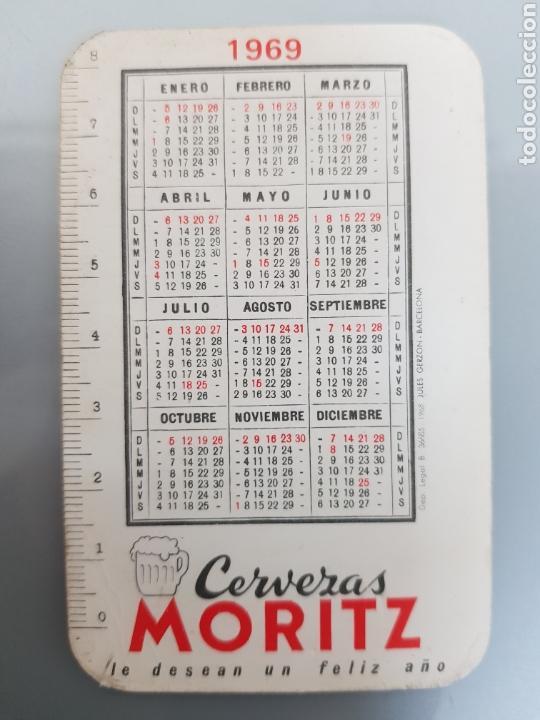 Calendarios: LOTE 5 CALENDARIOS BOLSILLO 1969 CERVEZAS MORITZ - Foto 8 - 145210794