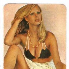 Calendriers: CALENDARIO DE BOLSILLO AÑO 1976 CHICA - DESNUDO - PUBLICIDAD LENCERIA - JUMILLA - VER FOTO REVERSO. Lote 152871150