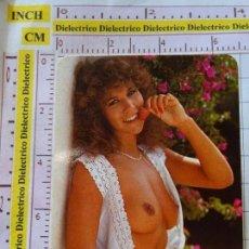 Calendarios: CALENDARIO DE BOLSILLO. DESNUDOS. AÑO 1992. MUJER SEXY ERÓTICA.NO FOURNIER. Lote 155969646