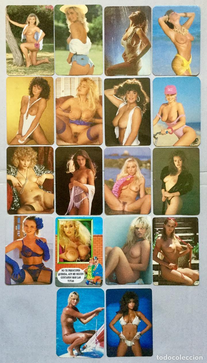 18 CALENDARIOS DE BOLSILLO - EROTICOS DE CHICAS (Coleccionismo para Adultos - Calendarios)