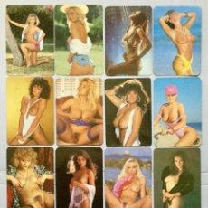 Calendarios: 18 CALENDARIOS DE BOLSILLO - EROTICOS DE CHICAS. Lote 157225582