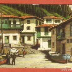Calendarios: CALENDARIO DE BOLSILLO AÑO 1971 ASTURIAS - PINTURA - OLEO DE PASCUAL TEJERINA - VER FOTO REVERSO. Lote 166952228