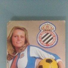 Calendarios: CALENDARIO DE CHICA FUTBOL ESPAÑOL DE 1977. Lote 172825422