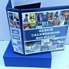 Calendarios: ALBUM SUPERMAMUT MARCA BBB*-BEUMER*. INCLUYE CAJETÍN. + 100 HOJAS CALENDARIOS 9 DIVISIONES.. Lote 176136259