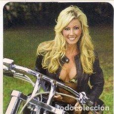 Calendarios: -41548 CALENDARIO DESNUDO FEMENINO CON MOTO, EROTICO, AÑO 2013, CON PUBLICIDAD, SERIE BO 595, MUJER. Lote 177492393