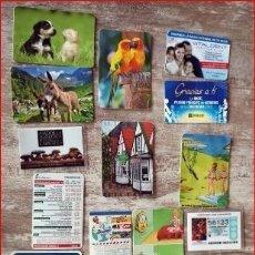Calendarios: LOTE DE 17 CALENDARIOS. Lote 177626808