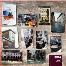 Calendarios: LOTE DE CALENDARIOS TEMA VASCOS 16 CALENDARIOS . Lote 177627025
