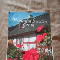 Calendarios: CALENDARIO BEATIFUL SWEDEN 2019. Lote 182694348