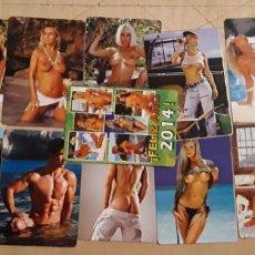 Calendarios: 1 CALENDARIOS .SERIADOS DE ** 10 CHICAS + 2 CHICO ** 2014 CASA CB . Lote 191747945