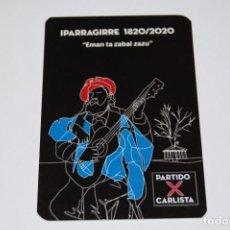 Calendarios: CALENDARIO PARTIDO CARLISTA. AÑO 2020. (CARLISMO, REQUETÉ, POLÍTICA). Lote 233319885