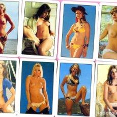 Calendarios: COLECCION COMPLETA DE 18 CALENDARIOS DE FOURNIER DE CHICAS AÑO 2011. Lote 198218636