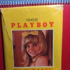 Calendarios: 1968 PLAYBOY : PLAYMATE DESK CALENDAR. Lote 198553633
