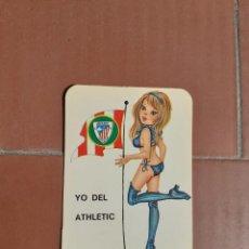 Calendarios: CALENDARIO CHICA SEXY FUTBOL ATHLETIC DE BILBAO AÑO 1977. Lote 199301155