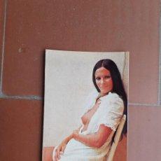 Calendarios: CALENDARIO CHICA EROTICA SEMIDESNUDA DESTAPE AÑO 1977. Lote 203480052