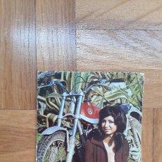 Calendriers: CALENDARIO CHICA ERÓTICA CON MOTO BULTACO AÑO 1975. VER FOTO ADICIONAL. Lote 205363010