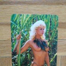 Calendarios: CALENDARIO CHICA EROTICA AÑO 1989. VER FOTO ADICIONAL. Lote 213851931