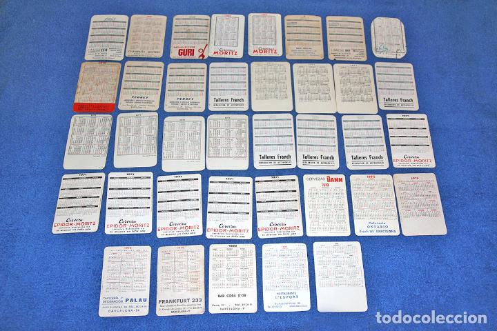 Calendarios: LOTE DE 37 CALENDARIOS EROTICOS Y SUGERENTES (AÑOS 60-70) - EN BUEN ESTADO - Foto 2 - 226127912