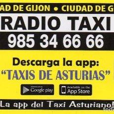 Calendários: CALENDARIO DE PUBLICIDAD 2021 - RADIO TAXI - CIUDAD DE GIJON. Lote 232443595