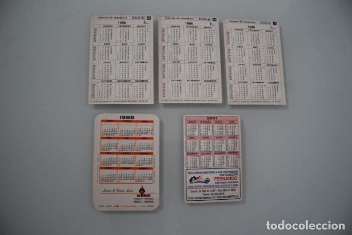 Calendarios: 5 CALENDARIOS DE BOLSILLO DE COCHES - Foto 2 - 235169575