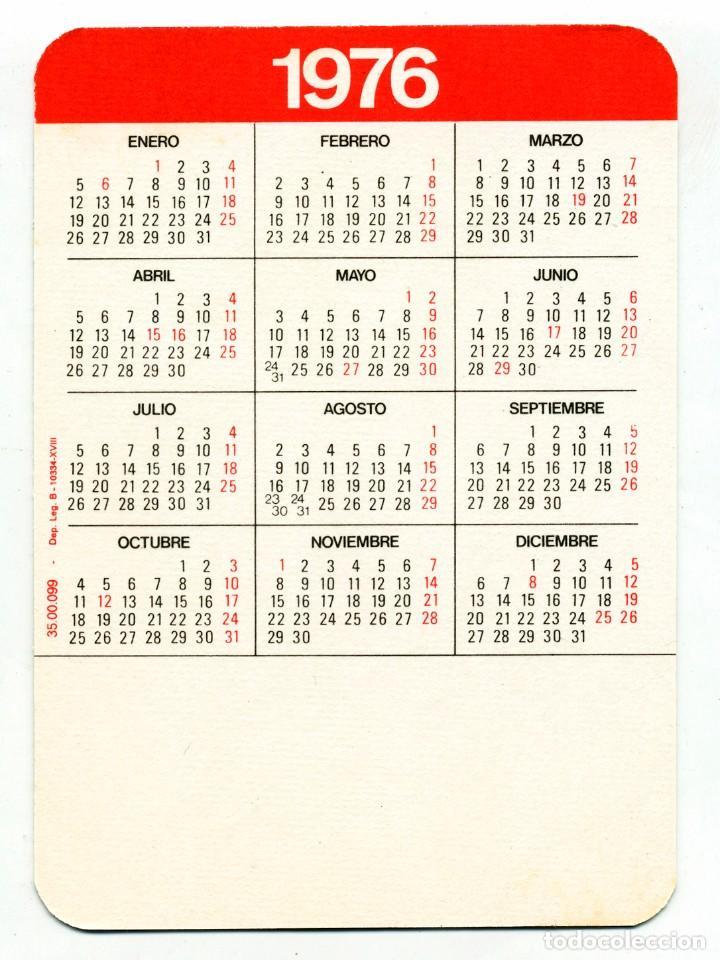 Calendarios: 2 CALENDARIOS DE BOLSILLO EROTICOS DIFERENTES AÑO 1976 / 77 MUJERES SEXYS - Foto 2 - 235370695