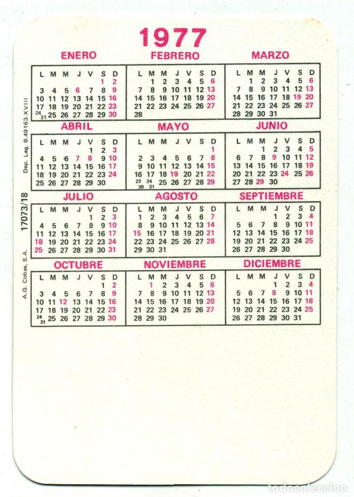 Calendarios: 2 CALENDARIOS DE BOLSILLO EROTICOS DIFERENTES AÑO 1976 / 77 MUJERES SEXYS - Foto 3 - 235370695