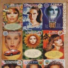Calendarios: 12 CALENDARIOS SERIADOS DE ** HORÓSCOPO CHICAS ** CASA EGC. AÑO 1997. Lote 241486580