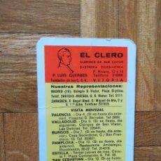 Calendários: CALENDARIO PUBLICITARIO. EL CLERO. SASTRERIA ECLESIASTICA. AÑO 1969. VER FOTOS. Lote 241488530
