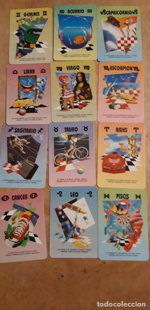 12 CALENDARIOS SERIADOS DE ** HORÓSCOPO ** CASA BO.. AÑO 1996 . CON PUBLICIDAD (Coleccionismo para Adultos - Calendarios)