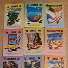 Calendarios: 12 CALENDARIOS SERIADOS DE ** HORÓSCOPO ** CASA BO.. AÑO 1996 . CON PUBLICIDAD. Lote 241489680