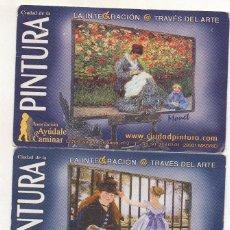Calendarios: DOS CALENDARIOS CIUDAD DE LA PINTURA 2005. Lote 243206005
