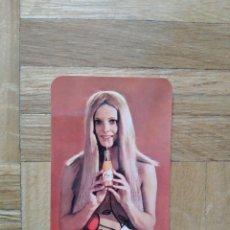 Calendarios: CALENDARIO CHICA EROTICA. ZUMOS FRUCO AÑO 1969. VER FOTO ADICIONAL. Lote 245388240