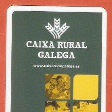 Calendarios: CALENDARIO DE BOLSILLO FOURNIER AÑO 2010 CAJAS DE AHORROS/ BANCOS - CAIXA RURAL GALEGA. Lote 245650895