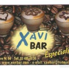 Calendarios: CALENDARIO DE BOLSILLO PUBLICITARIO AÑO 2006 ALIMENTACIÓN - CAFÉ - PUBLICIDAD XAVI BAR. Lote 245653125