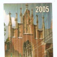 Calendarios: CALENDARIO DE BOLSILLO DE LETONIA AÑO 2005 TURISMO - RIGA - VER FOTO REVERSO. Lote 245655830