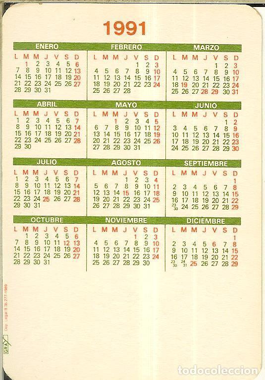Calendarios: CALENDARIO DE SERIE - 1991 - GRAY - Foto 2 - 245804975