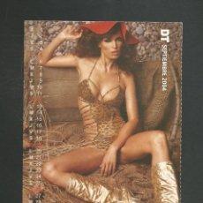 Calendarios: TARJETA POSTAL CALENDARIO SEPTIEMBRE 2004. Lote 254364395