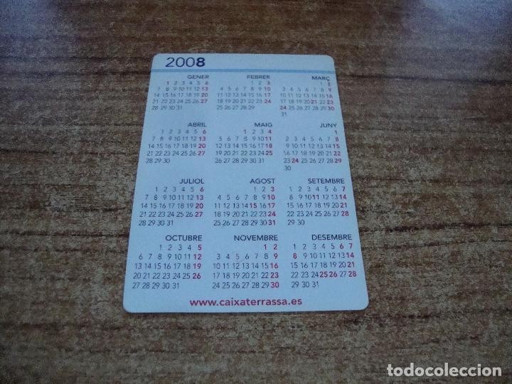 Calendarios: CALENDARIO DE BOLSILLO TEMA BANCOS CAIXAS CAIXA TARRASSA 2008 CATALAN - Foto 2 - 254775915
