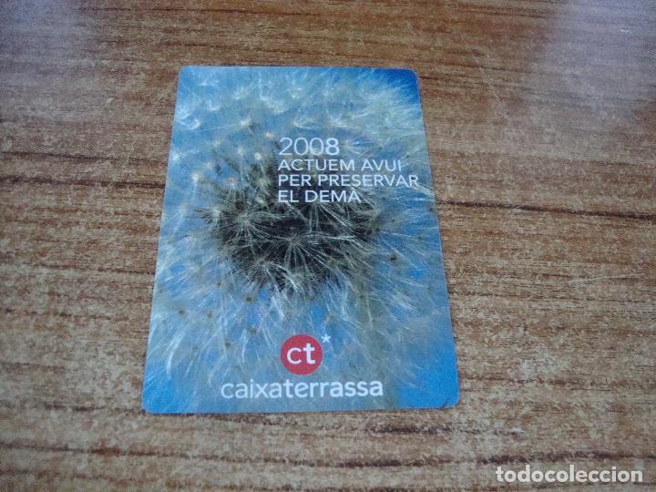 CALENDARIO DE BOLSILLO TEMA BANCOS CAIXAS CAIXA TARRASSA 2008 CATALAN (Coleccionismo para Adultos - Calendarios)
