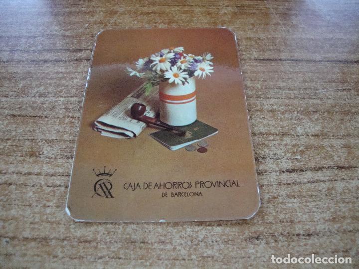 CALENDARIO DE BOLSILLO TEMA BANCOS CAIXAS CAJA AHORROS PROVINCIAL DE BARCELONA 1976 (Coleccionismo para Adultos - Calendarios)