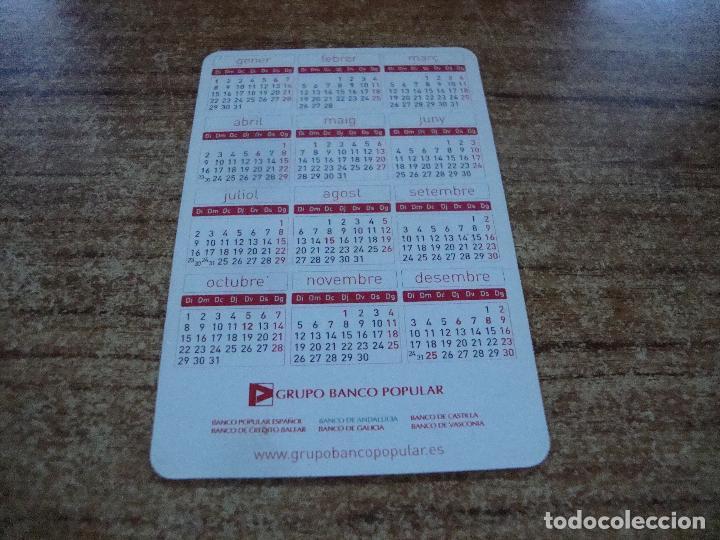 Calendarios: CALENDARIO DE BOLSILLO TEMA BANCOS CAIXAS BANCO POPULAR 2007 CATALAN - Foto 2 - 254778110