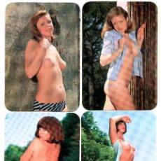 Calendarios: 6 CALENDARIOS DE BOLSILLO EROTICOS DIFERENTES AÑO 1978 MUJERES SEXYS DESNUDO FEMENINO. Lote 262478480