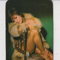 Calendarios: CALENDARIO DE BELLA SEÑORITA DEL AÑO 1975 EN PUBLICIDAD DE BAR QUERALT TARRAGONA EN CAT. Lote 269393543