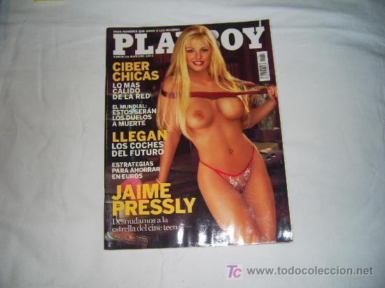PLAYBOY Nº 281,MAYO 2002: DESPLEGABLE DE CHRISTI SHAKE,STAR WARS EPISODIO II,JAIME PRESLEY (Coleccionismo - Adultos)