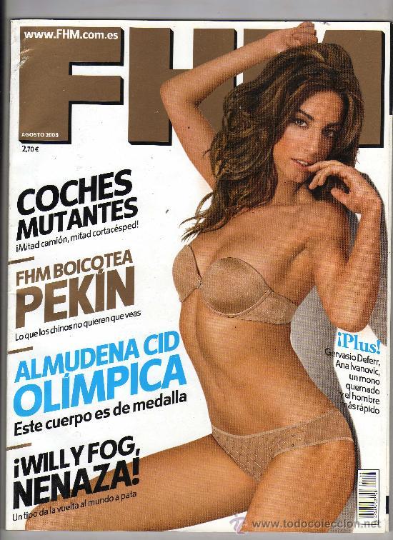 Revista Fhm Nº 53 Agosto 2008 En Portada Al Sold Through