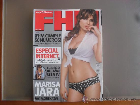 Revista Fhm Nº 50 Mayo 2008 Marisa Jara Sold Through Direct Sale