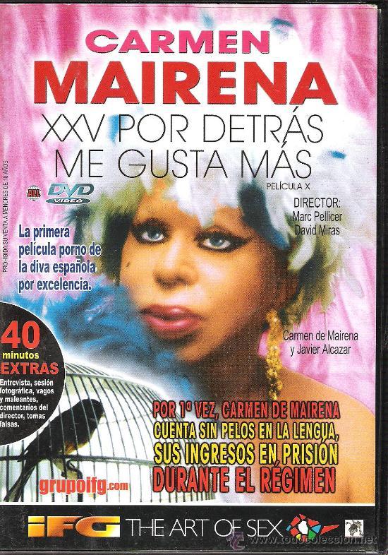 Carmen Mairena Por Detras Me Gusta Mas Gay Vendido En Venta