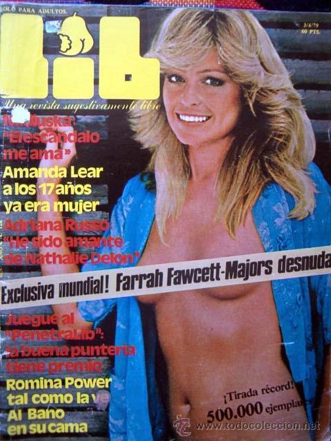 Revista Lib Nº 128 Farrah Fawcett Amanda Lea Vendido En Venta