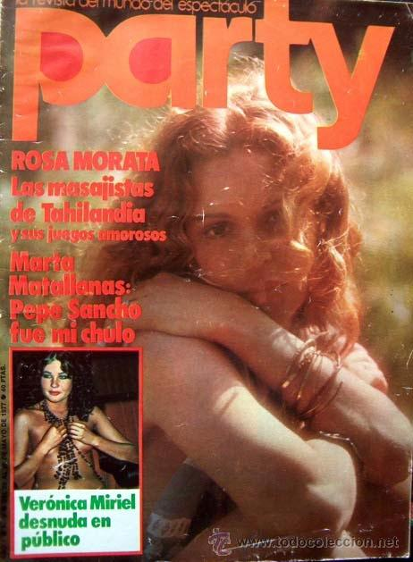 Revista Party Nº 6 Veronica Miriel Mary Paz Vendido En Venta