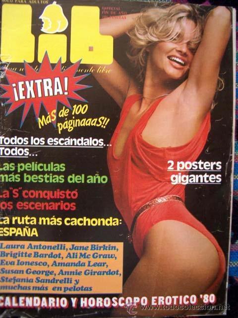 Revista Lib 165 Extra Calendario Famosas Desn Vendido En Venta