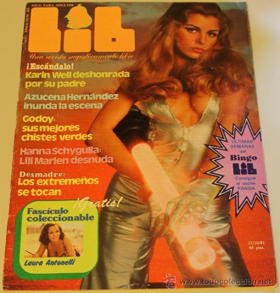 LIB Nº262 - 27/10/81 - KARIN WELL, AZUCENA HERNANDEZ, (Coleccionismo - Adultos)